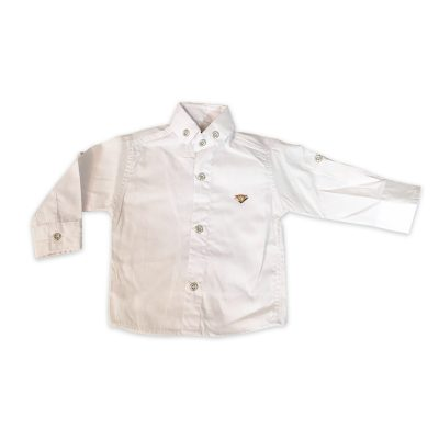 پیراهن پسرانه سفید