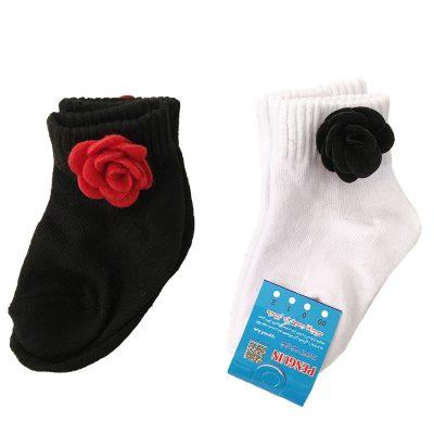 جوراب طرح گل ها